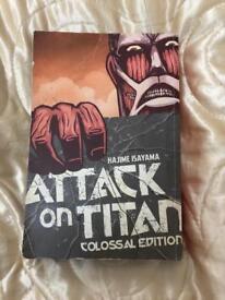 Attack on Titan, colossal edition Vol #1