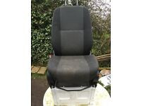 Single Passenger Seat with Base for Mercedes Sprinter 2012 or VW Crafter Used