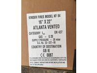 Kinder Atlanta Contemporary Gas Fire