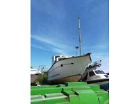 Boat - 45ft Motor Cruiser 1978 - Boat Project / House Boat