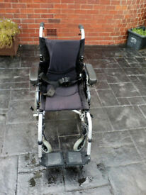 karma lightweight transport wheelchair
