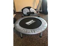 Body sculpture trampoline