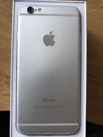 Immaculate condition silver iPhone 6