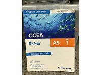 CCEA AS/2 Biology Revision Books