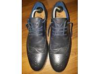 Navy Brogues Size 12/46 River Island Mens Shoes