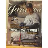 NEW YORK YANKEES MAGAZINE OCTOBER 2017 OFFICIAL PROGRAM ALDS GARY SANCHEZ JUDGE