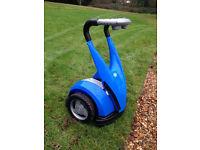 Kids Segway Style Battery Powered Ride On Forward Reverse Blue - hardly used - Ferndown, Dorset