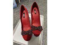 ASOS UK6 heels never worn