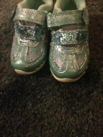 Toddler frozen shoes.