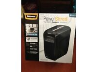 FELLOWES POWERSHRED MODEL 60CS