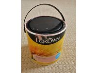 Crown Breatheasy Honey Fever Salmon Pink Matt Paint for Walls & Ceilings Approx 1/3 of a 2.5L Tin