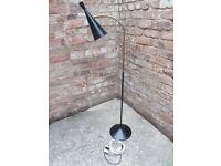 Retro floor lamp - 1950s Gooseneck lighting: Vintage GA Scott for Maclamp