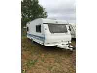 Hobby 560 Fixed Double Bed 2003