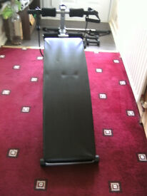 DELTA SPORT, Small Inclineing Exercise Bench with extras.