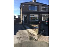 2 bed semi to let