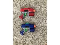 Nerf Gun Pistols (x2)