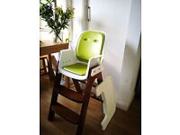OXO Tot Sprout Highchair (Green/Walnut) £50