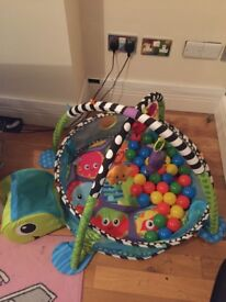 Activity play gym and ball pit