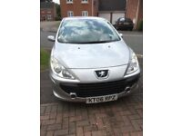 Excellent condition Peugeot 307 low mileage