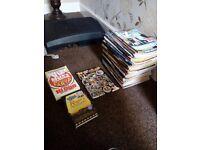 97 Viz comics + extras