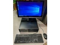 Dell Optiplex Desktop PC - High Spec - HD Monitor