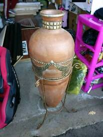 Large Vase with stand