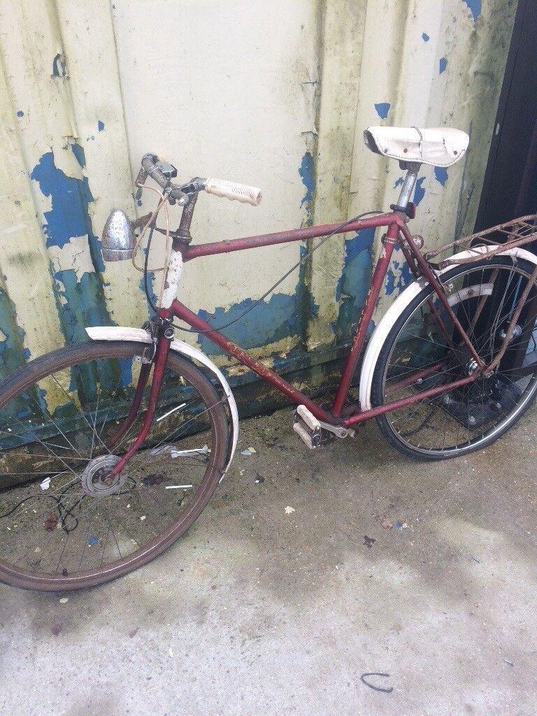 Barn Find Vintage Raleigh Trent Tourist