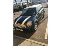 2007 MINI COOPER, 1.6, 3 DOOR, BLACK, WARRANTED LOW MILEAGE, LADY OWNER, MOT & TAX, CO2 139g/km