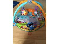 Fisher price baby gym/ play mat