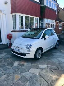 image for Fiat 500, 1.2 Lounge, Panoramic Glass Roof, Blue & Me, Low Mileage