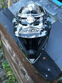 SHOX Motor cross helmet L