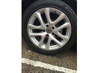 4 X VW Scirocco Alloy Wheels with Tyres