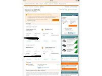2 return tickets to Marrakech from Gatwick
