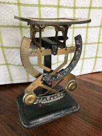 Antique Bilateral Letter Scales