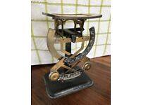 Antique Bilateral Letter Scales