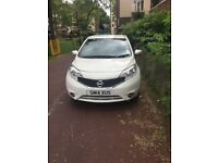 WHITE NISSAN NOTE 2014 FOR SALE 4800 ONO
