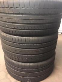 295/35/21y Michelin x3