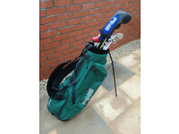 Ping Woods, Taylormade Irons, Odyssey Putter & Ping Bag - Excellent Condition