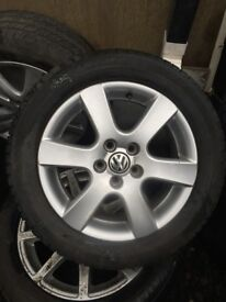 VW POLO 15 INCH ALLOY WHEEL 195/55R15