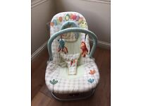 Mama and Papas bouncing chair
