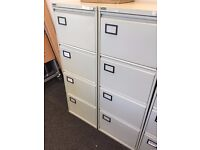 One 4 draw filing cabinet