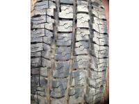 215/65/16 7 mill commercial tyre