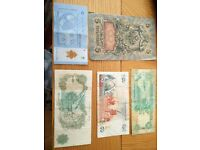 Assorted Banknotes from Around the World Ideal Starter or Addition to any Collection