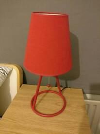 John Lewis Monty Lamp in Red