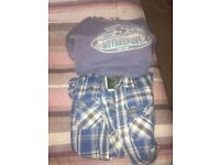 2 mens size small superdry tops