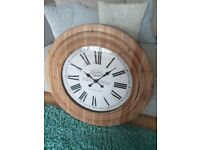 Oak Furniture Land Clock