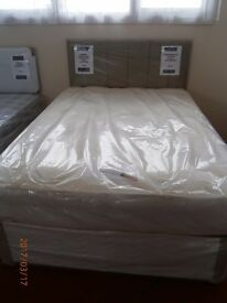 NEW Memory Pocket Double Bed with Mattress