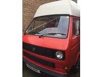 T25 Campervan. Immaculate condition. Lovely character. Like a new van underneath but with retro look