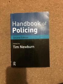 Handbook of Policing College/University Book