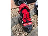 Out n about/outnabout running/jogging 3 wheel stroller/buggy/pushchair